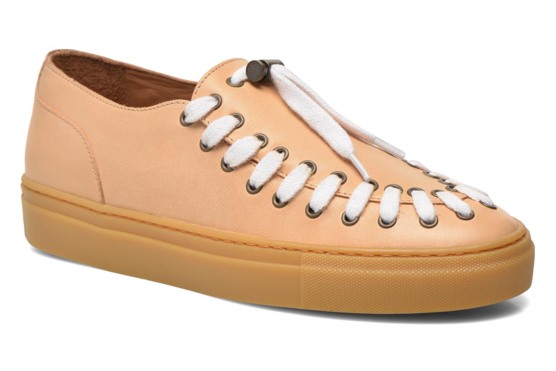 Chaussures à lacets Swear BLAKE 2 BIS Beige vue détail/paire