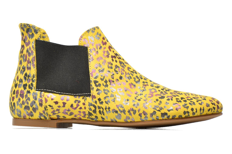 Bottines et boots Ippon Vintage Peal south Jaune vue derrière