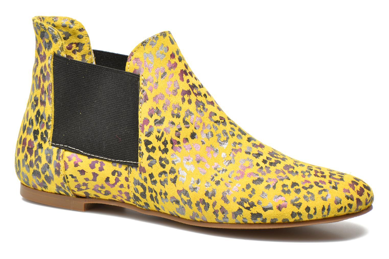 Bottines et boots Ippon Vintage Peal south Jaune vue détail/paire