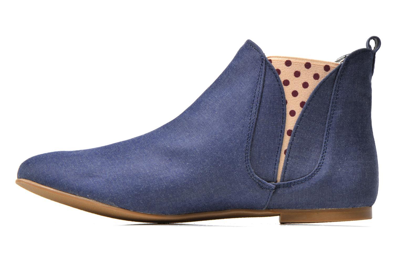 Bottines et boots Ippon Vintage Sun flydots J Bleu vue face