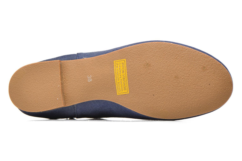 Bottines et boots Ippon Vintage Sun flydots J Bleu vue haut