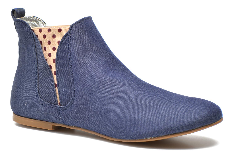 Bottines et boots Ippon Vintage Sun flydots J Bleu vue détail/paire