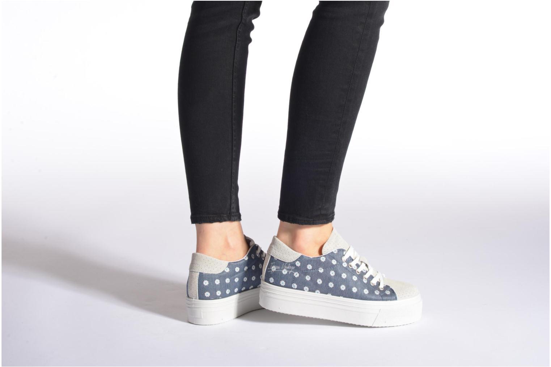 Sneaker Ippon Vintage Tokyo jeans mehrfarbig ansicht von unten / tasche getragen