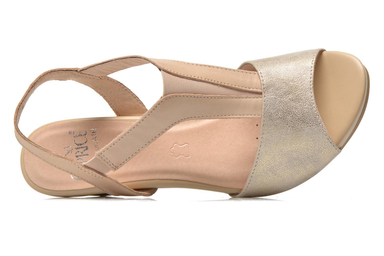 Sandales et nu-pieds Caprice Comoca Beige vue gauche