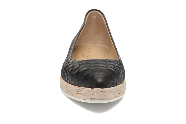 Ballerines Vicini Simply Noir vue portées chaussures