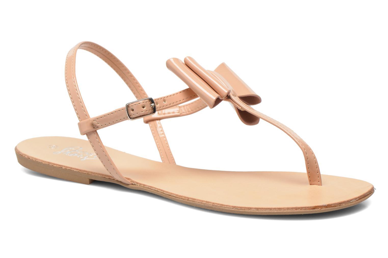Sandales et nu-pieds I Love Shoes Donoeud Beige vue détail/paire