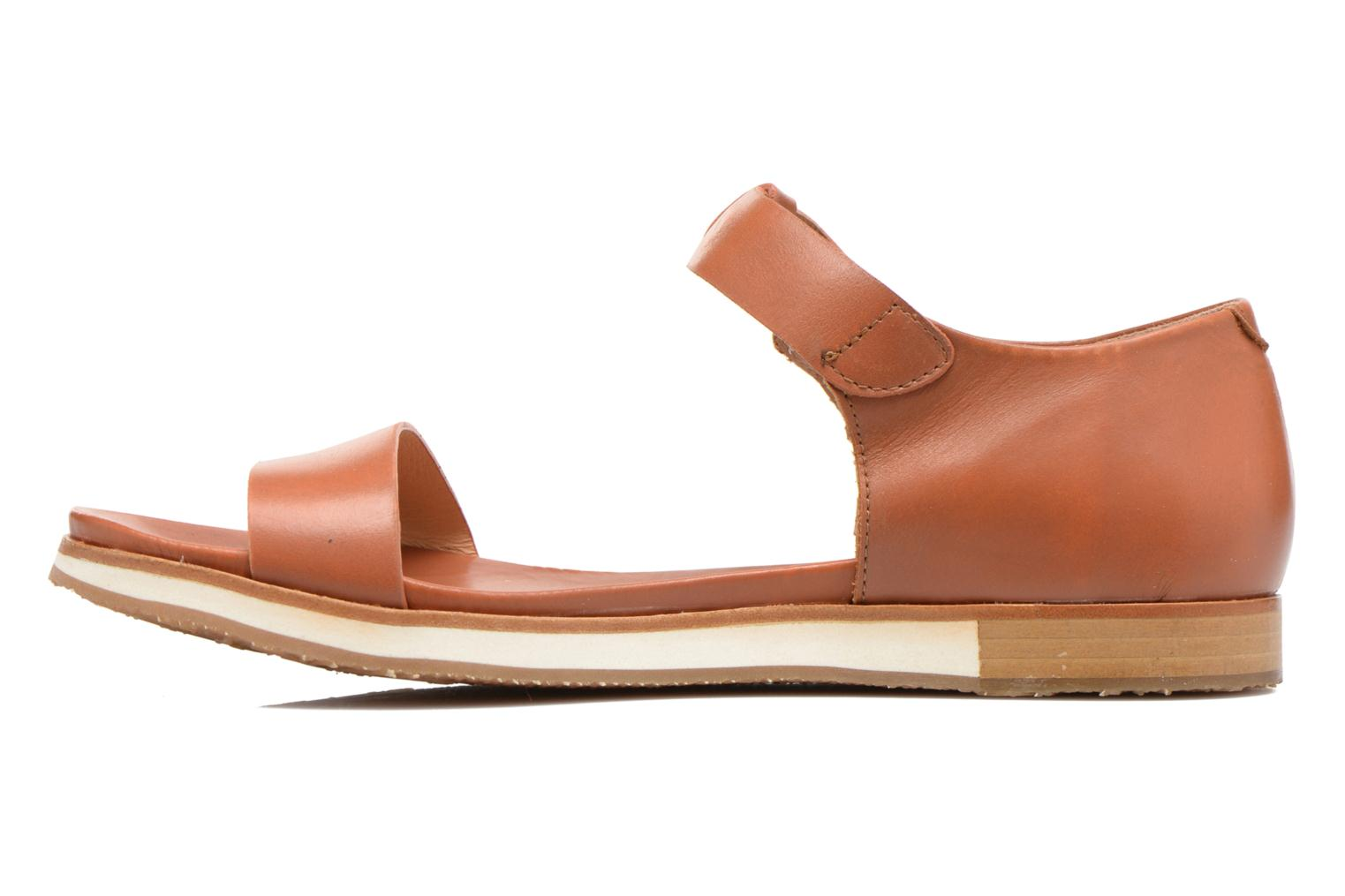 Sandals Neosens Cortese S502 Brown front view