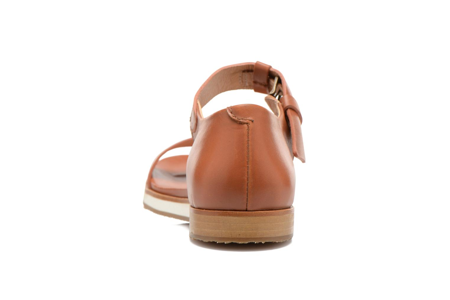 Sandals Neosens Cortese S502 Brown view from the right