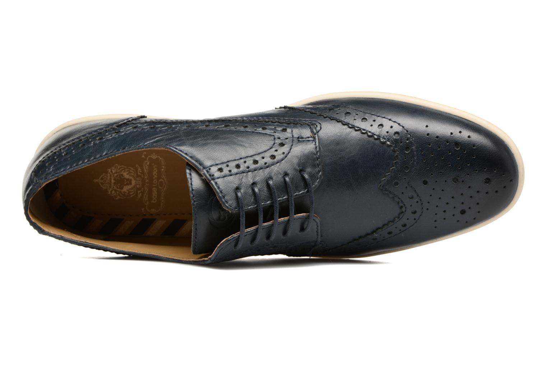 Chaussures à lacets Base London Gig Perform Bleu vue gauche