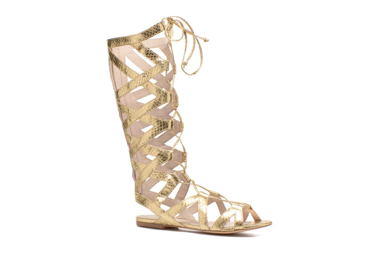 Sandales et nu-pieds Liu Jo Minerve gladiator Or et bronze vue détail/paire
