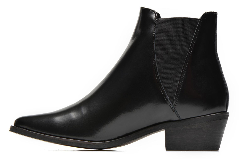 Boots en enkellaarsjes Steve Madden ANYML Zwart voorkant