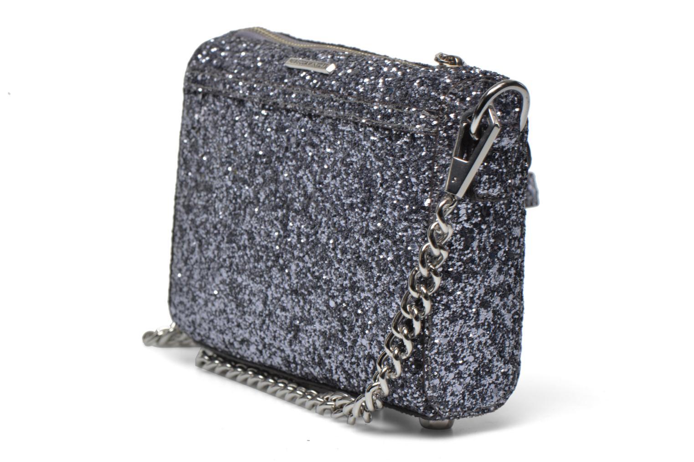 Håndtasker Rebecca Minkoff Micro MAC Sølv Se fra højre