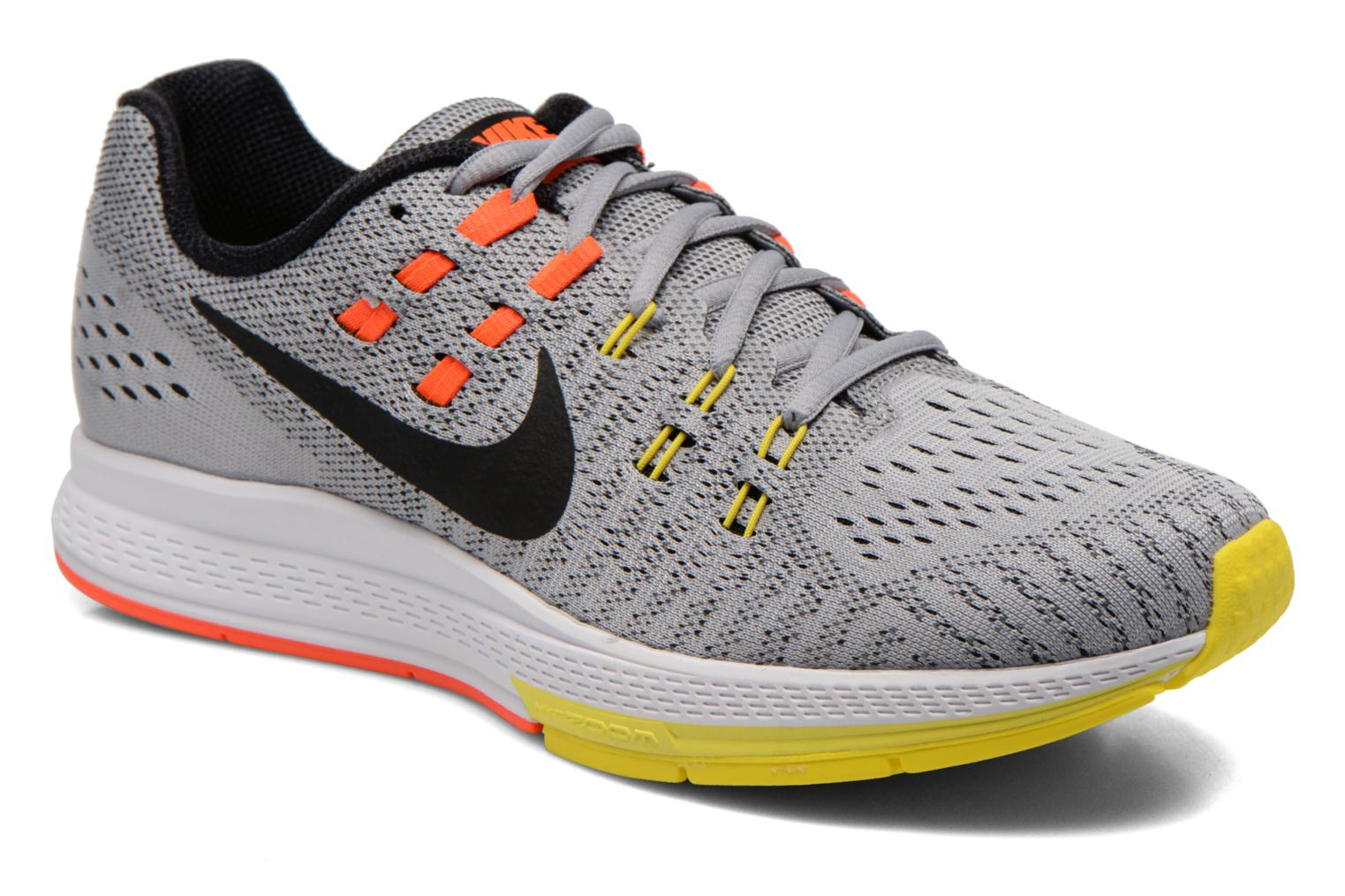 Nike Air Zoom Structure 19 Nike Sport shoes Men Wlf Gry/Blk Opt Yllw Ttl Crmsn