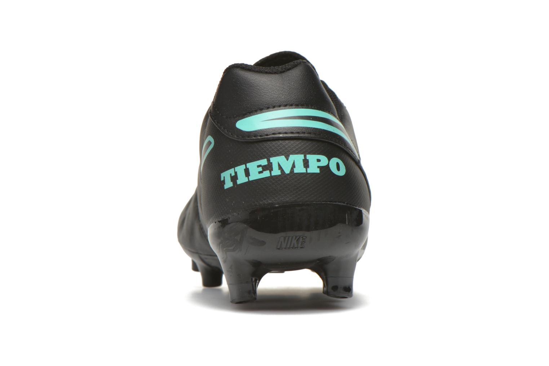 Tiempo Genio II Leather Fg Black/Black-Hyper Turq