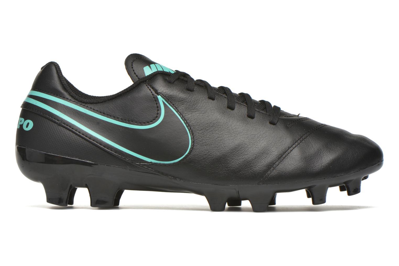Sportschuhe Nike Tiempo Genio II Leather Fg schwarz ansicht von hinten
