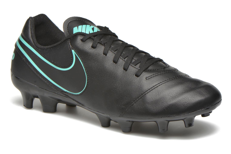 Sportschuhe Nike Tiempo Genio II Leather Fg schwarz detaillierte ansicht/modell