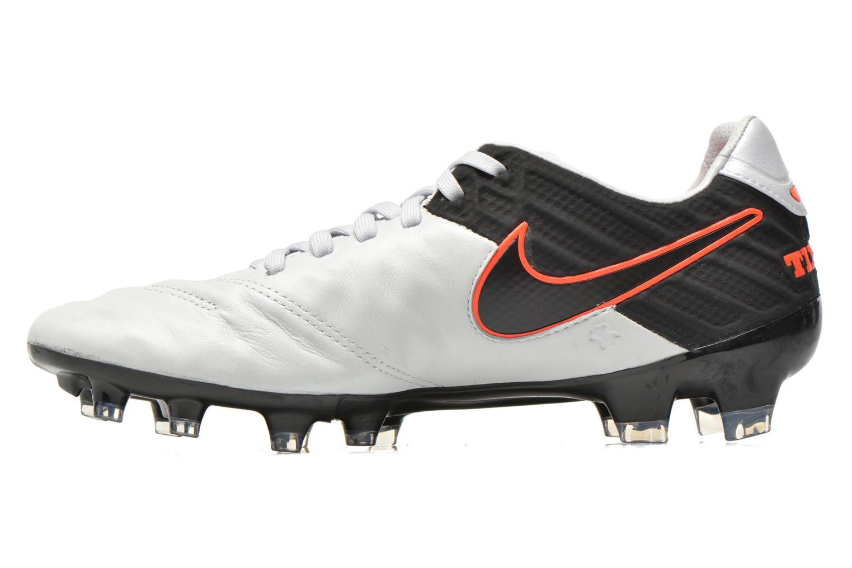 Chaussures de sport Nike Tiempo Legacy II Fg Gris vue face