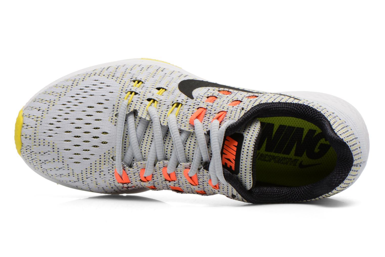 Zapatillas de deporte Nike W Nike Air Zoom Structure 19 Gris vista lateral izquierda