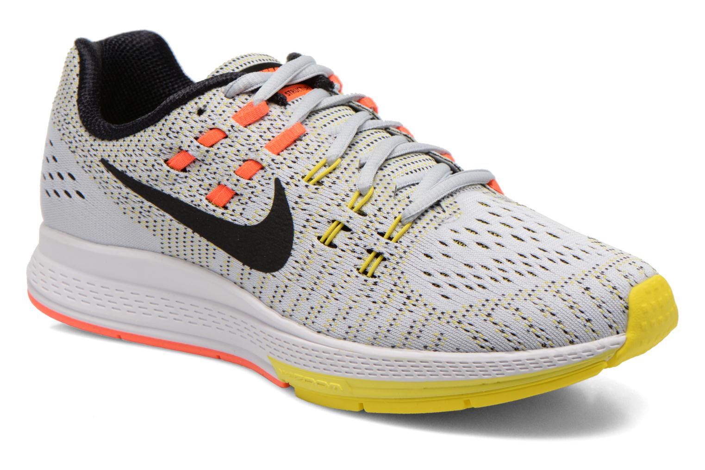 W Nike Air Zoom Structure 19 Pr Pltnm/Blk-Opt Yllw-Hypr Orn