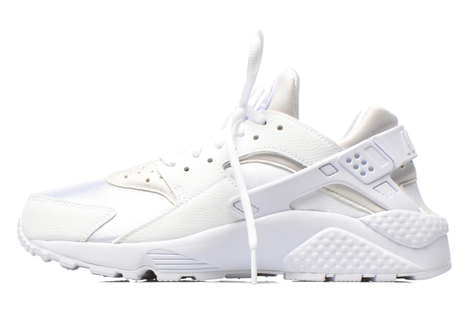 Baskets Nike Wmns Air Huarache Run Blanc vue face