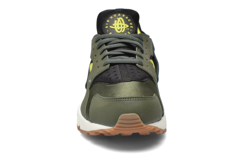 Wmns Air Huarache Run Carbon Green-Black