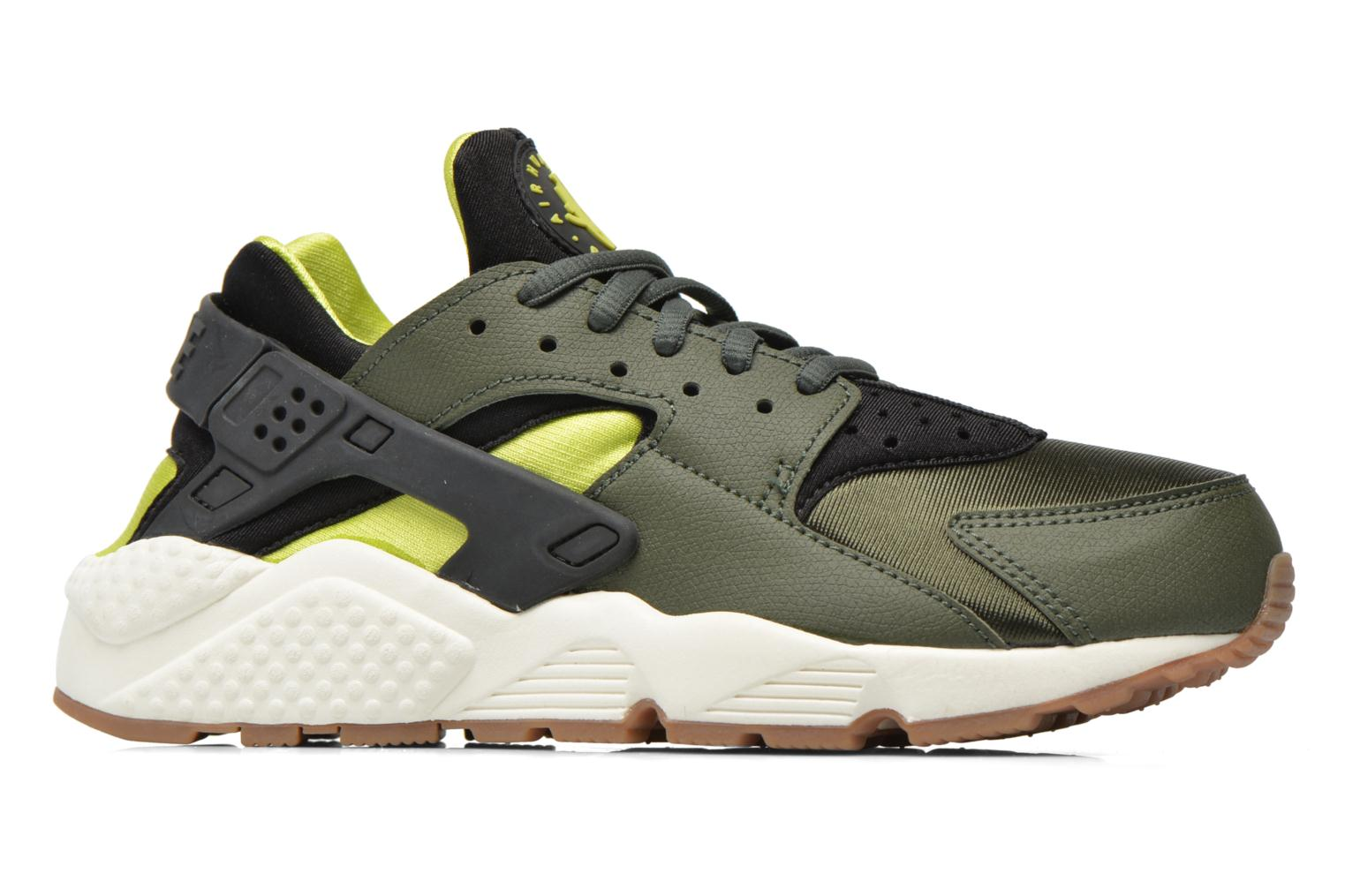 Wmns Air Huarache Run Carbon Green-Black