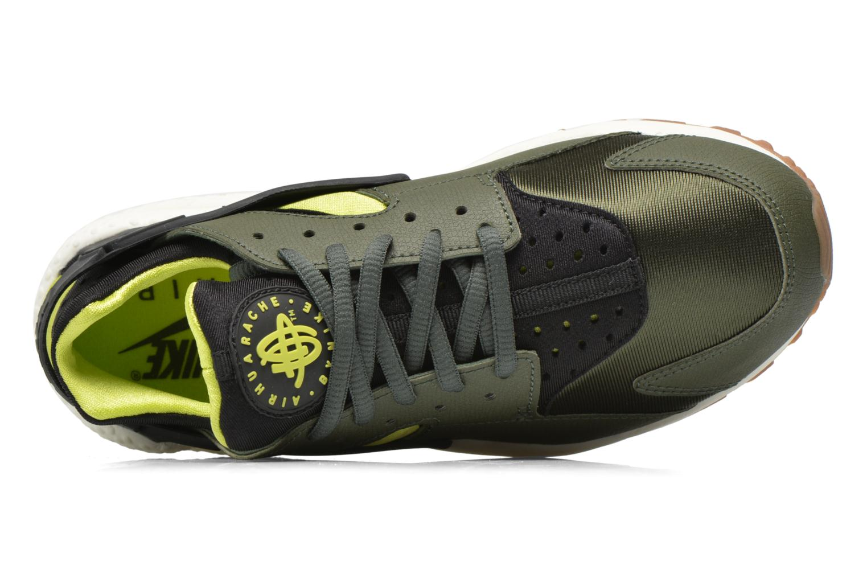 Sneaker Nike Wmns Air Huarache Run grün ansicht von links