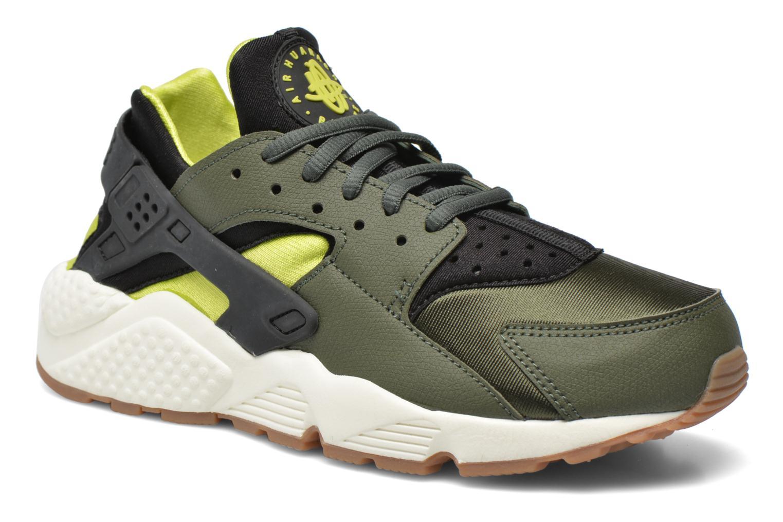 Sneaker Nike Wmns Air Huarache Run grün detaillierte ansicht/modell