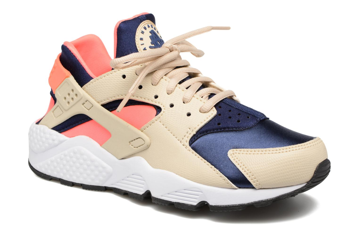 Baskets Nike Wmns Air Huarache Run Beige vue détail/paire