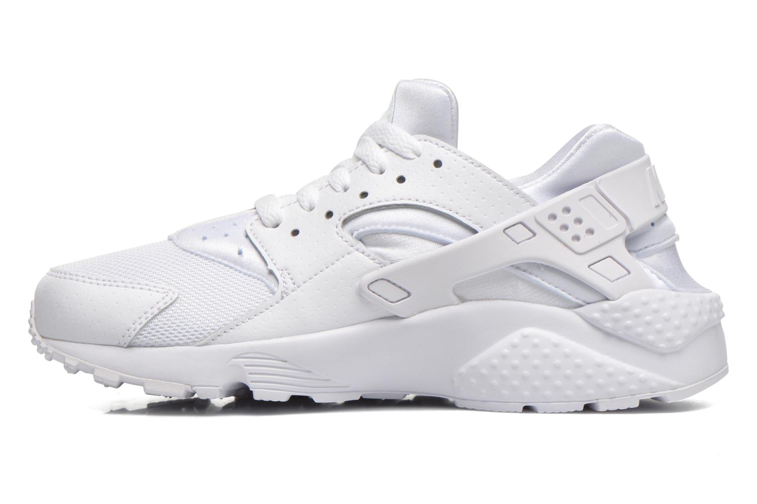 Nike Huarache Run (Gs) White/White-Pure Platinum