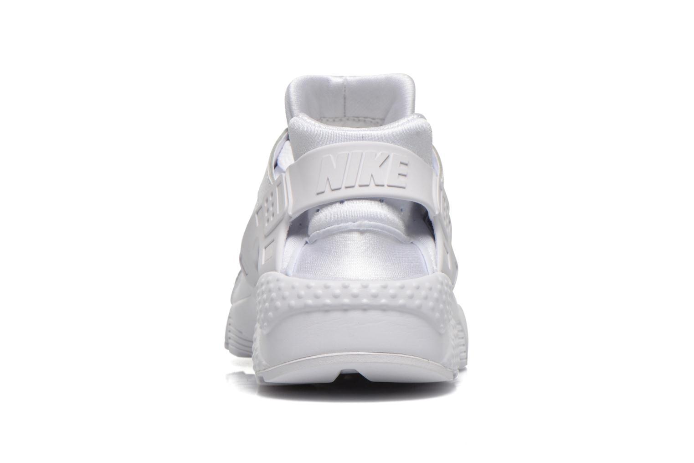 Baskets Nike Nike Huarache Run (Gs) Blanc vue droite