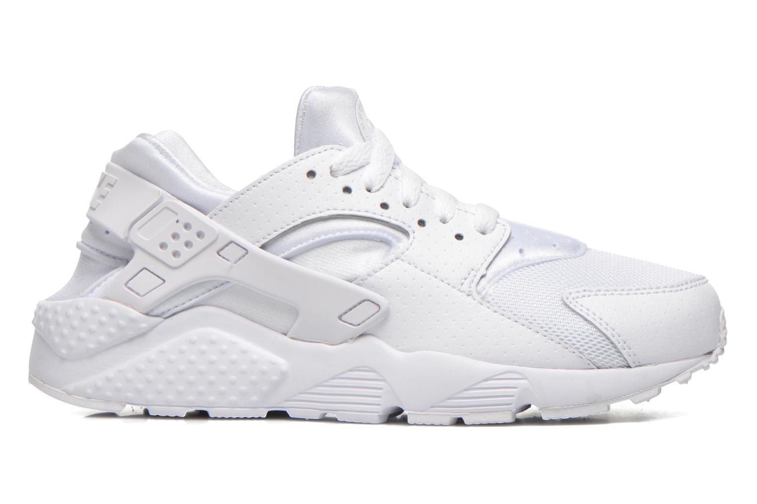 Trainers Nike Nike Huarache Run (Gs) White back view