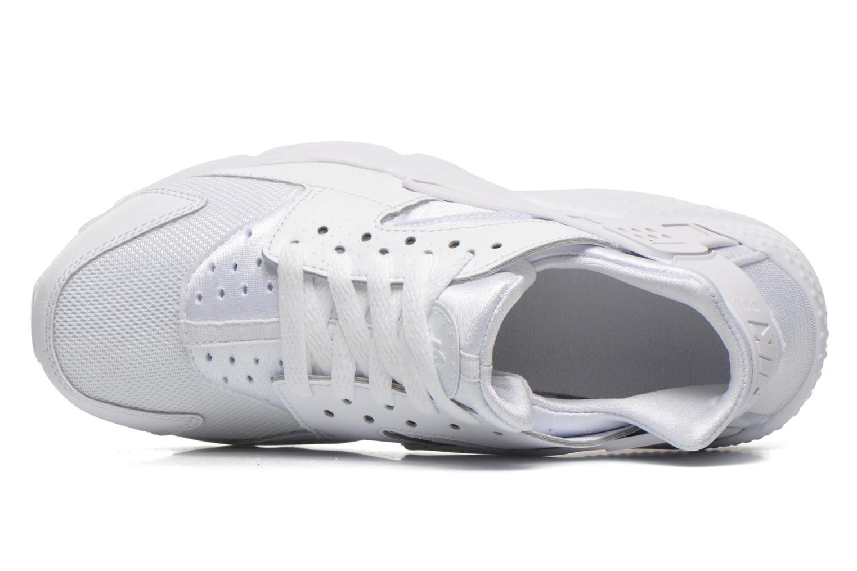 Baskets Nike Nike Huarache Run (Gs) Blanc vue gauche