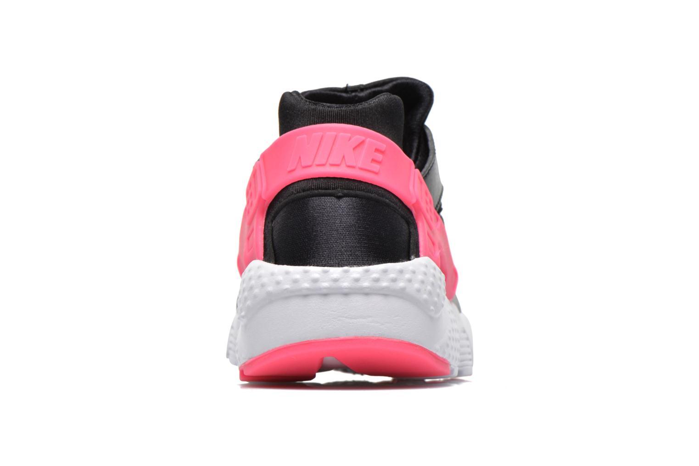 Baskets Nike Nike Huarache Run (Gs) Noir vue droite