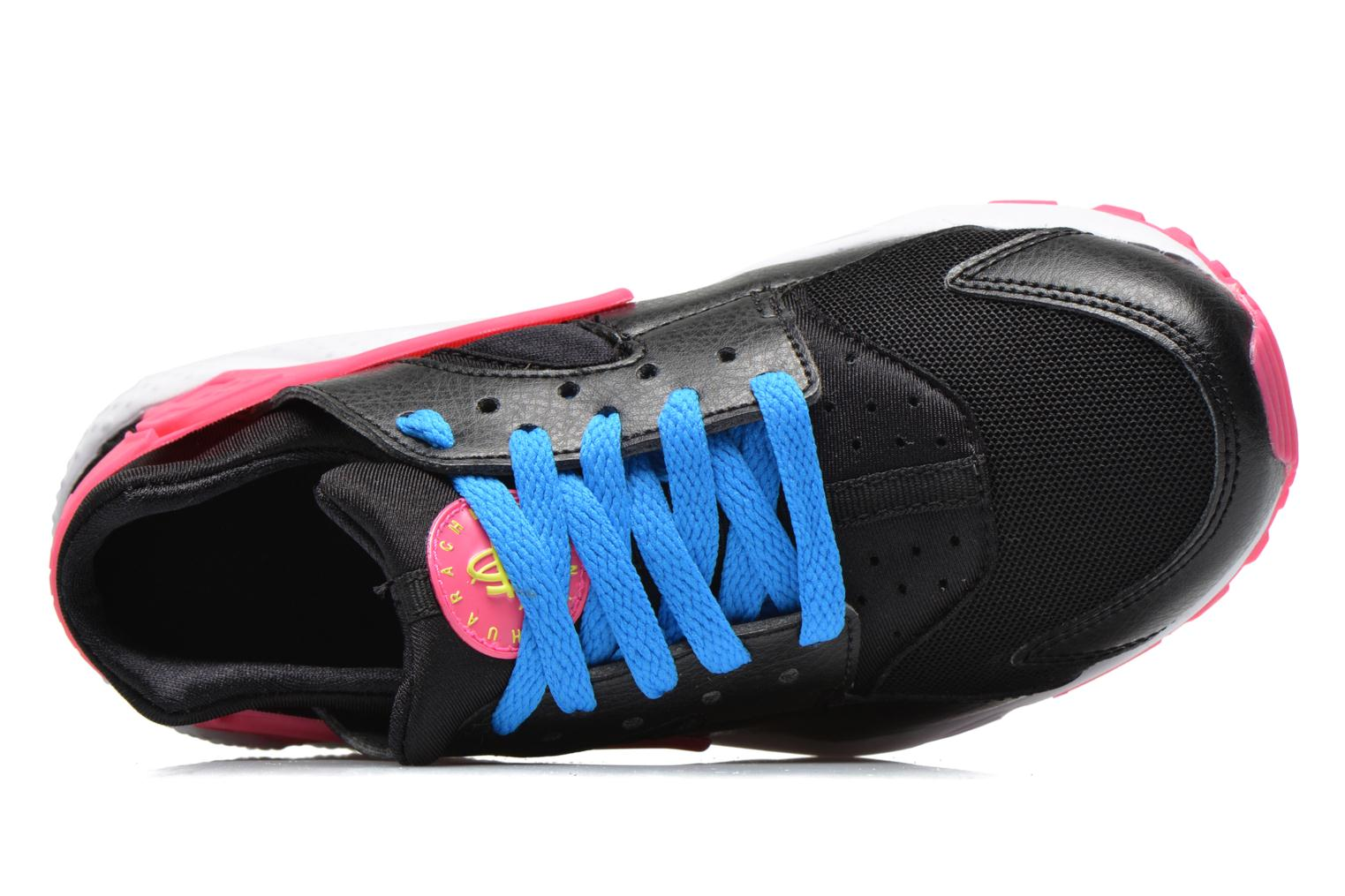 Trainers Nike Nike Huarache Run (Gs) Black view from the left
