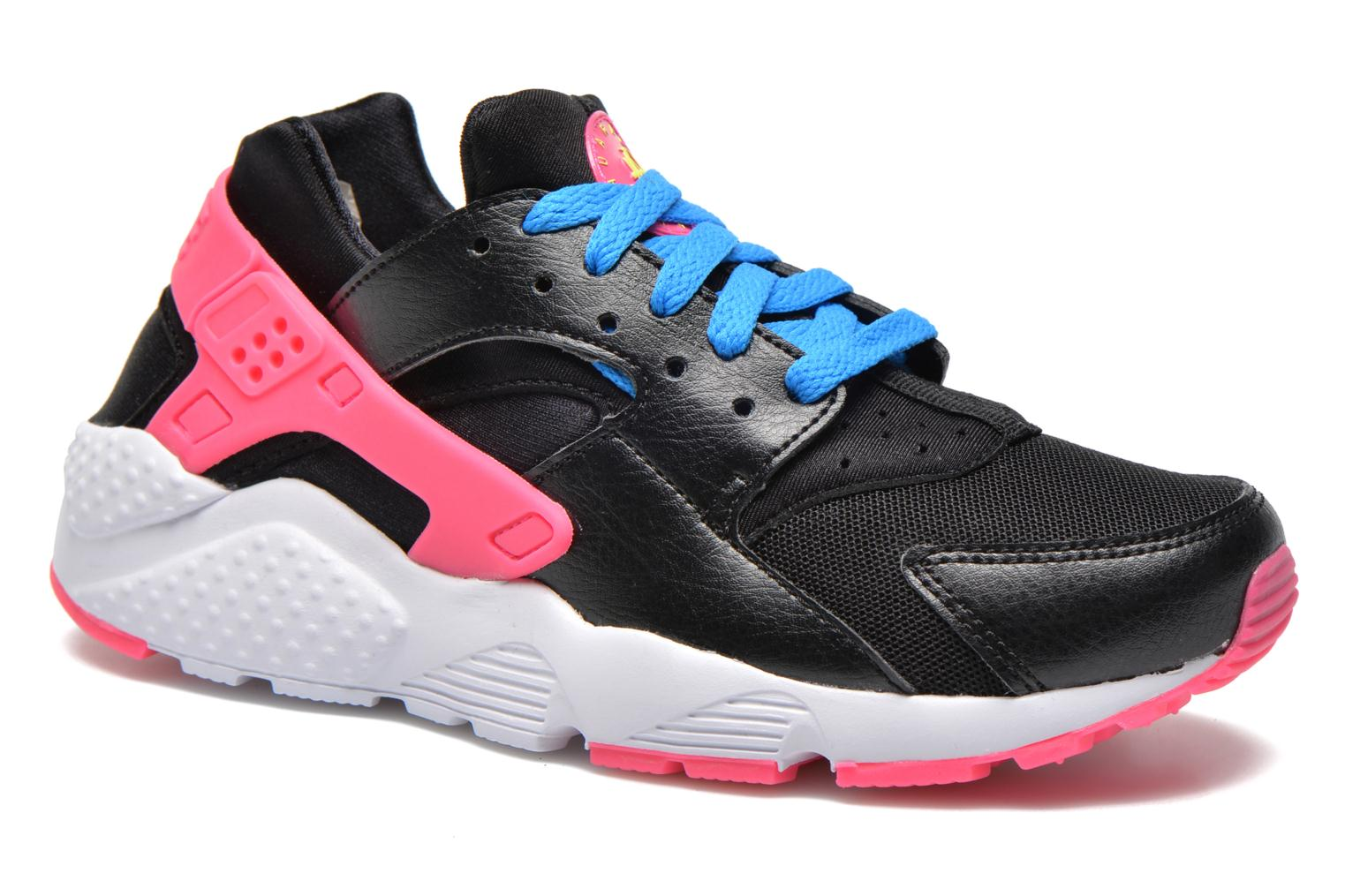 Sneakers Nike Nike Huarache Run (Gs) Zwart detail