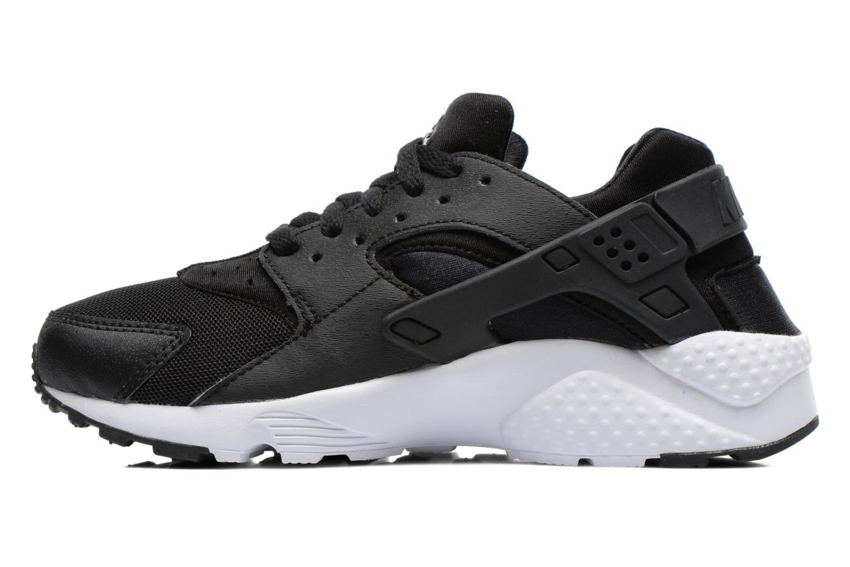 Deportivas Nike Nike Huarache Run (Gs) Negro vista de frente