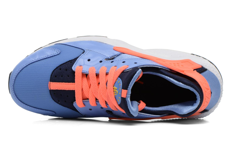 Sneaker Nike Nike Huarache Run (Gs) blau ansicht von links