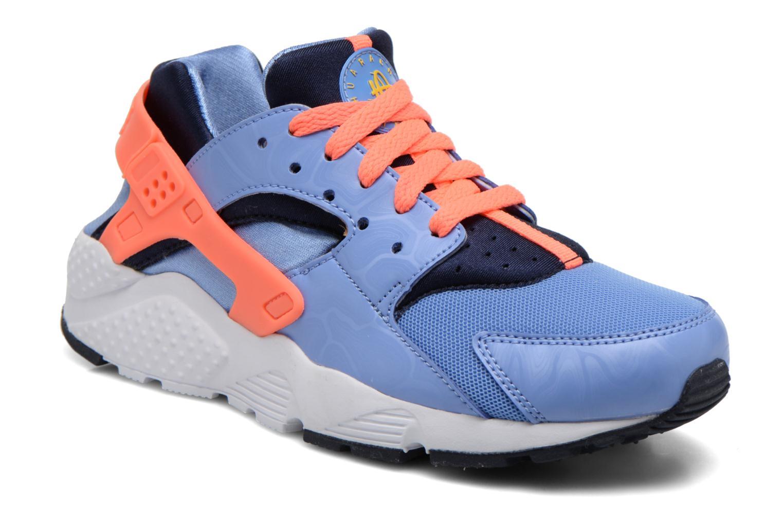 Sneaker Nike Nike Huarache Run (Gs) blau detaillierte ansicht/modell