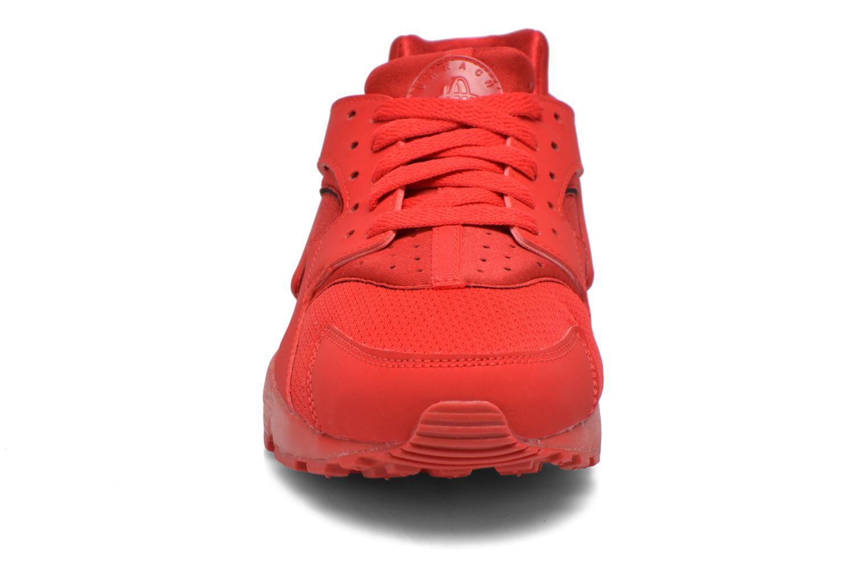 Sneaker Nike Nike Huarache Run (Gs) rot schuhe getragen