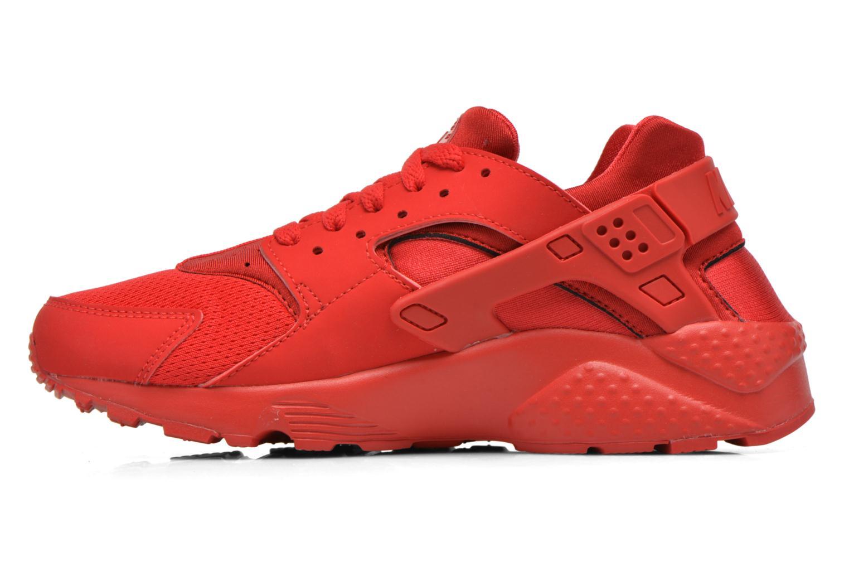 Sneaker Nike Nike Huarache Run (Gs) rot ansicht von vorne