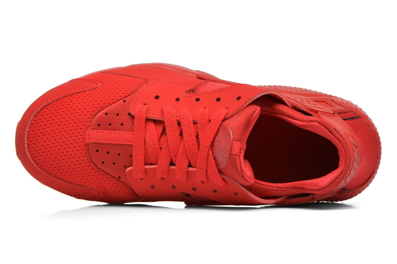 Sneaker Nike Nike Huarache Run (Gs) rot ansicht von links