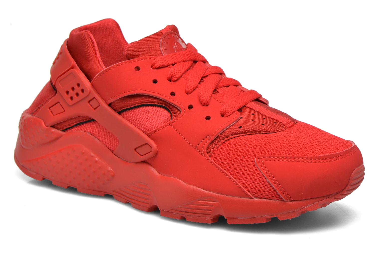 Sneaker Nike Nike Huarache Run (Gs) rot detaillierte ansicht/modell