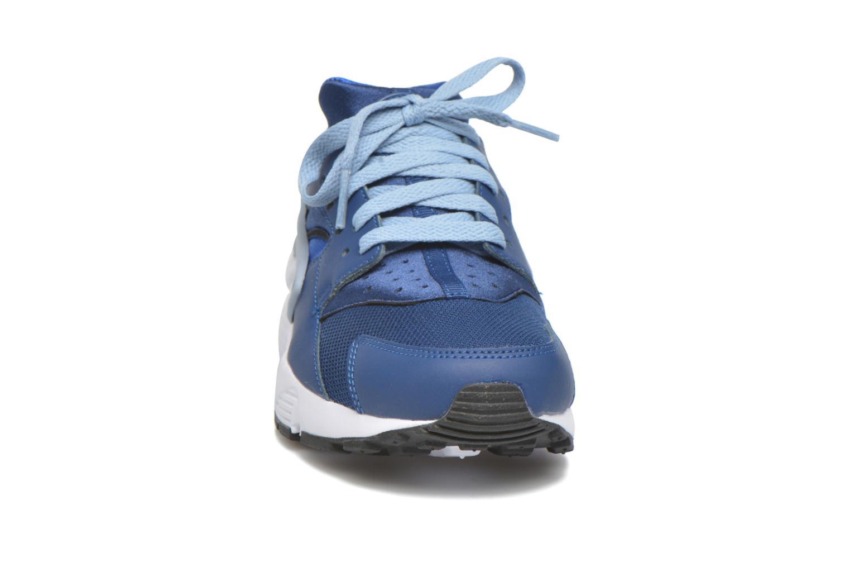 Baskets Nike Nike Huarache Run (Gs) Bleu vue portées chaussures