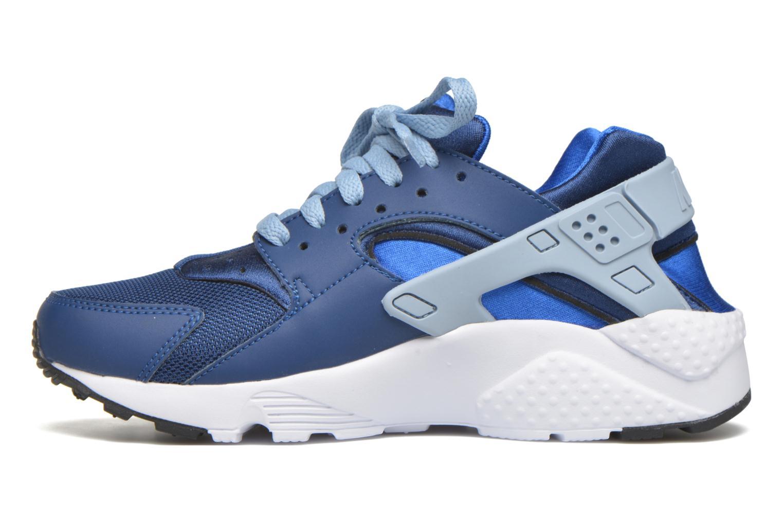 Baskets Nike Nike Huarache Run (Gs) Bleu vue face