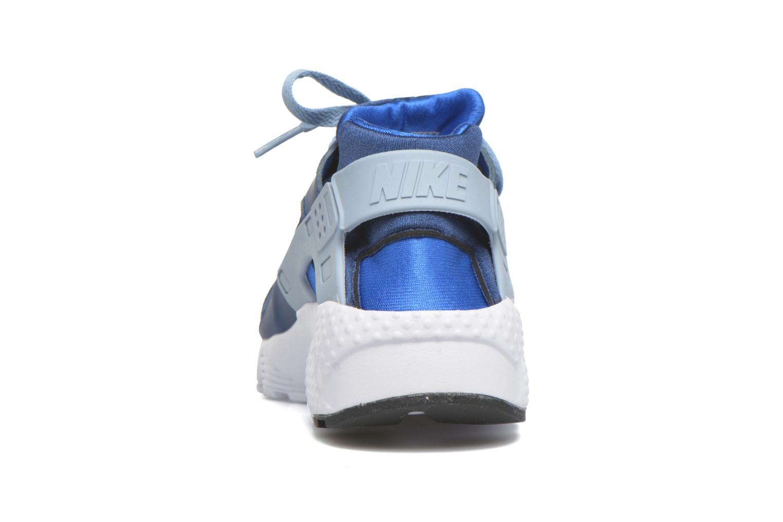 Baskets Nike Nike Huarache Run (Gs) Bleu vue droite