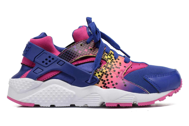 Sneakers Nike Nike Huarache Run Print (Gs) Lila bild från baksidan