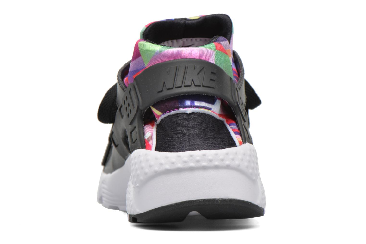 Trainers Nike Nike Huarache Run Print (Gs) Black view from the right