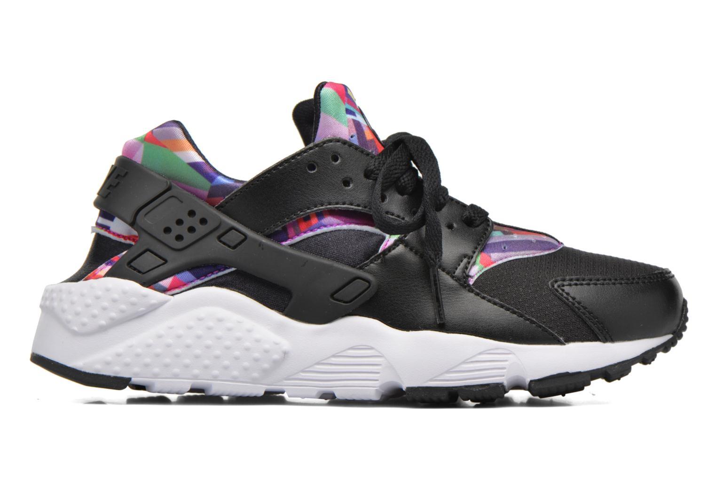Deportivas Nike Nike Huarache Run Print (Gs) Negro vistra trasera