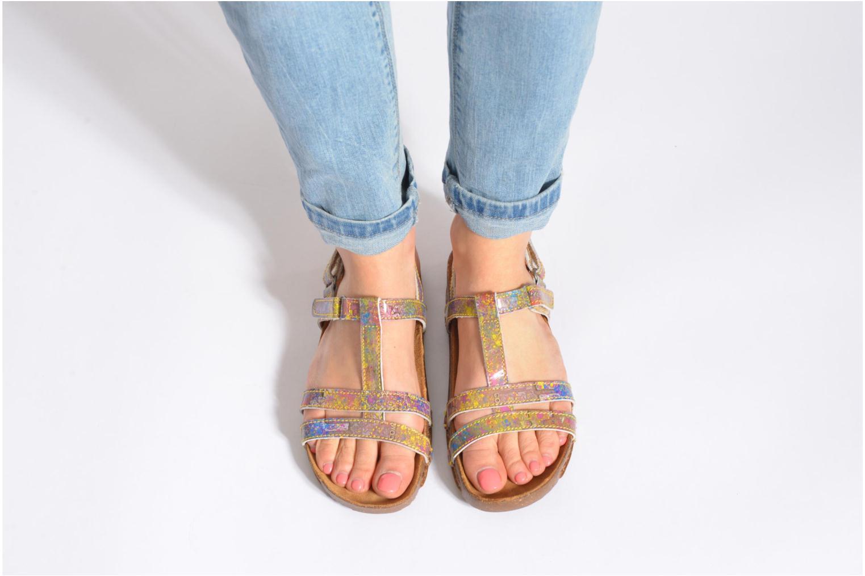 Sandales et nu-pieds Art I Breathe 889 Multicolore vue bas / vue portée sac